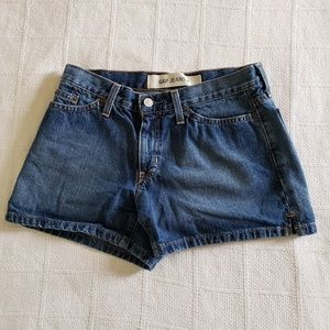 GAP Jeans Women's Denim 5 Pocket Cotton Short Sz 4